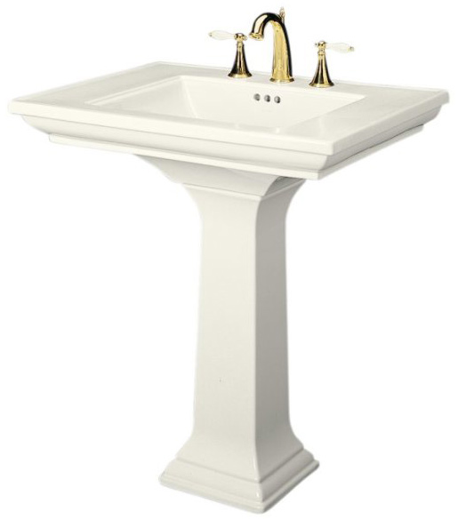 Standing Sink : Pedestal - sinks are free standing units often found in very small ...